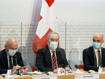 Swiss tighten virus restrictions, stop short of full lockdown