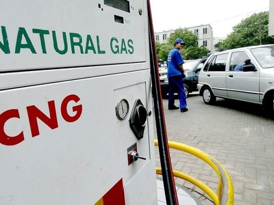 CNG stations in Sindh to remain closed for 48 hours