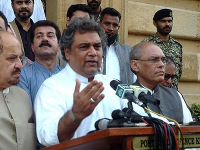 Ali Zaidi visits NIMA, Bahria University Islamabad
