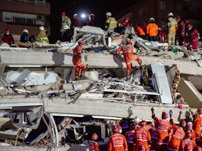 Hotel collapses, at least three dead in Indonesia quake: official