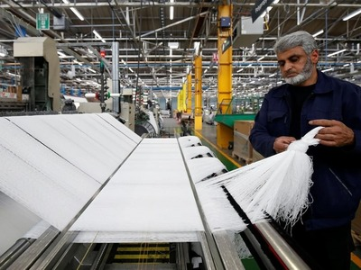 July-Dec 2020-21: Textile group exports increase by 7.79pc