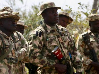 Nigeria army retakes military base from jihadists