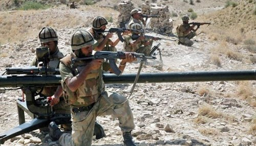 Security forces kill two TTP linked terrorists in South Waziristan: ISPR