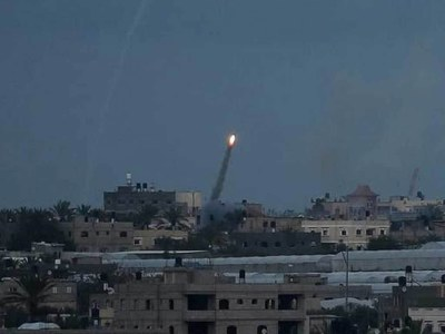 Israeli warplanes hit Gaza after rocket fire: army
