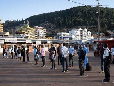 Rwandan capital back under full virus lockdown