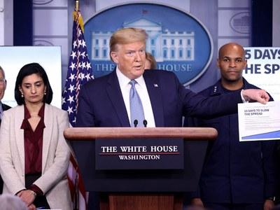 Trump spends last day in White House, Biden goes to Washington