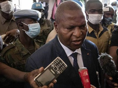 C. African opposition parties reject Touadera re-election