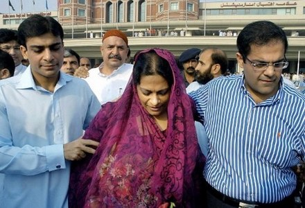 Shehbaz's wife approaches LHC against her arrest warrants