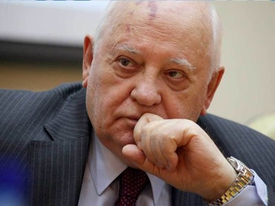 Gorbachev calls on Russia and US to mend ties under Biden