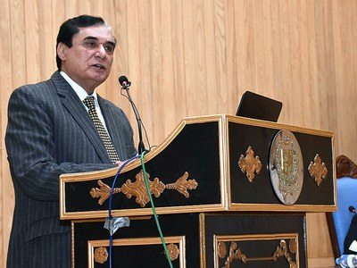 NAB striving to ensure implementation on rule of law: NAB Chairman