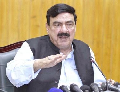 Interior Minister visits Islamabad Airport