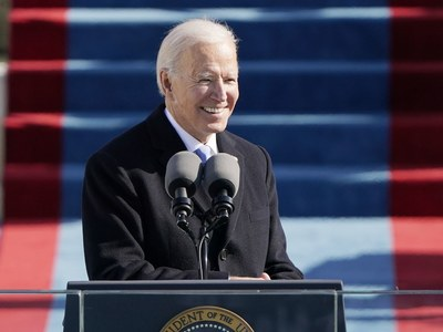 Biden calls for unity on 'day of history and hope' as he gets sworn in as 46th US President