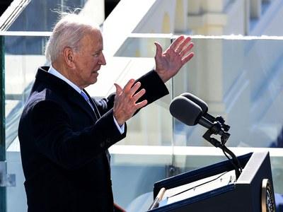 Biden vows 'we will defeat' domestic terror, white supremacy