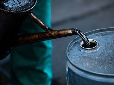 Brent oil may slide to $55.21
