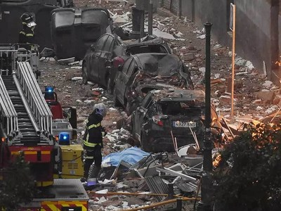 Death toll in Madrid building blast rises to four
