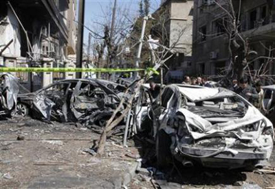 Twin suicide blasts in Baghdad leave nearly 30 dead
