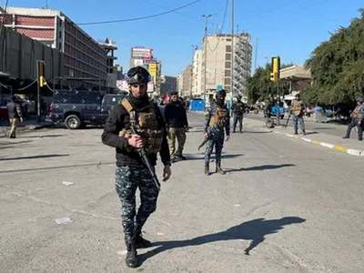 Twin suicide bombing in Baghdad kill 32, wound 110