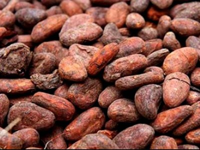 London cocoa prices fall