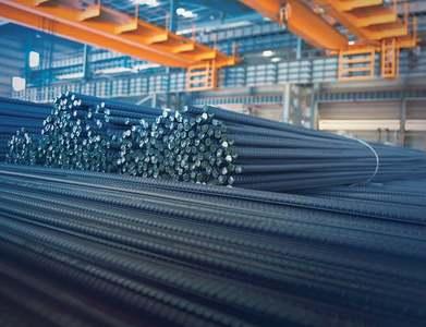 Customs block huge quantity of brand new steel items