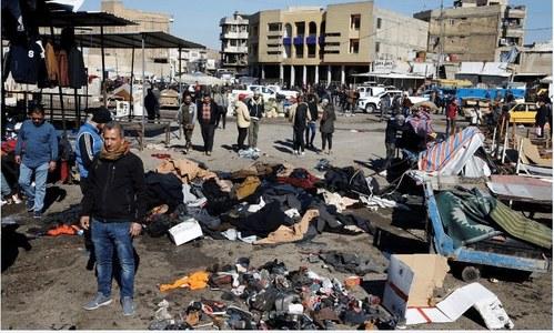 Pakistan condemns twin suicide blasts in Baghdad