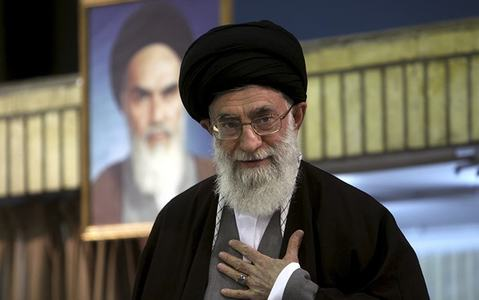 Top Iran leader posts Trump-like golfer image, vows revenge