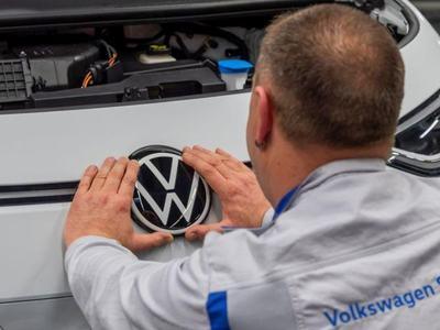 Turning corona corner, Volkswagen's profit falls less than feared