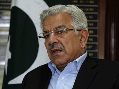 Assets beyond means case: Khawaja Asif sent to jail on judicial remand