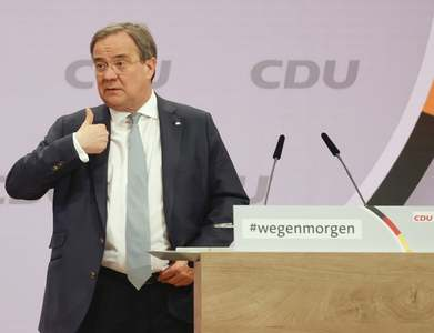 German CDU confirms Laschet as new leader in postal ballot