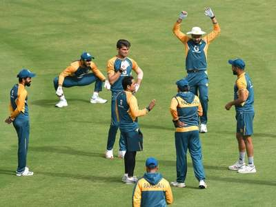 Pakistan, South Africa train at NSK ahead of Karachi Test