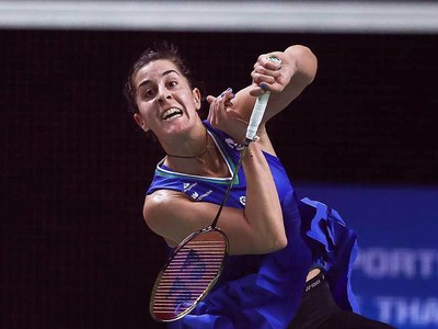Spain's Marin clinches spot in Thailand Open final