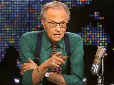 Iconic TV and radio interviewer Larry King dead at 87