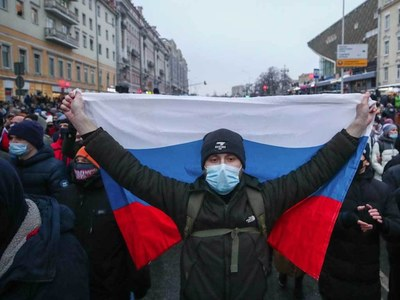 Russia accuses US diplomats of publishing Navalny rally routes