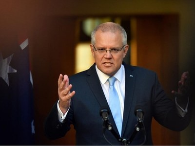 Australia's PM reluctant to commit to medium-term climate goals