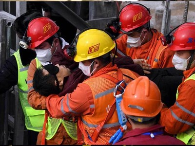 Nine trapped Chinese miners confirmed dead, one still missing
