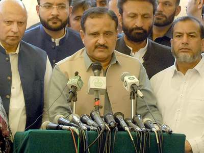 PML-N MPA Azhar Abbas calls on CM Buzdar