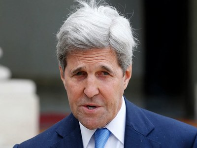 Kerry 'regrets' US absence from climate fight