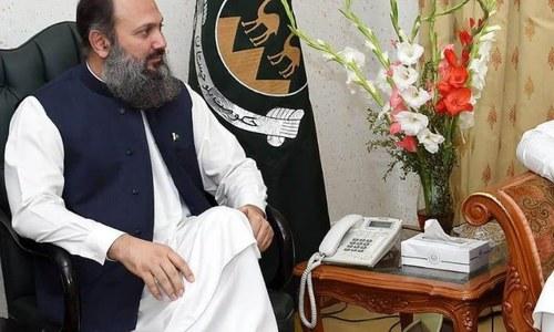 Jam Kamal visits Washuk