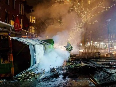 Dutch police arrest nearly 200 in new curfew riots