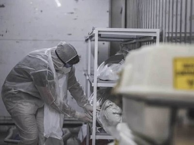 S.Africa turns to temporary morgues as Covid deaths soar