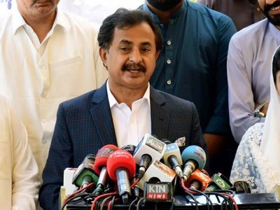 Haleem Adil Shaikh takes charge of Opposition leader in Sindh Assembly