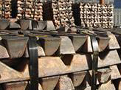 Zinc hits over 2-month low on higher inventories, weak Chinese demand