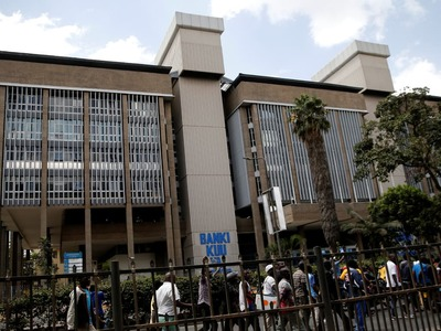 Kenya central bank holds main lending rate for sixth time in a row