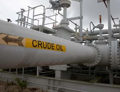 US crude stocks down by nearly 10 million barrels: EIA