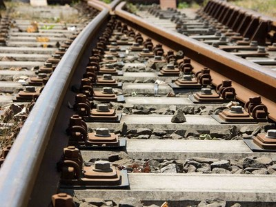 KPT to City Station: Work underway on railway track: DS