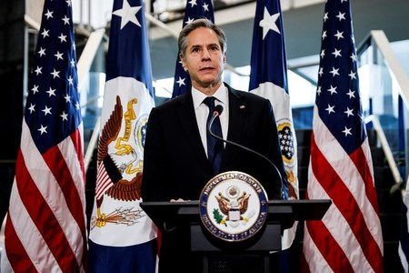 On his first day, Secretary of State Blinken commits to rebuilding U.S. diplomacy worldwide