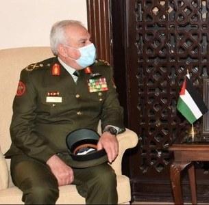 Alvi confers Hilal-e-Imtiaz on Jordanian CJCS
