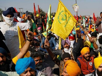 Indian farmers scrap march on parliament after riots