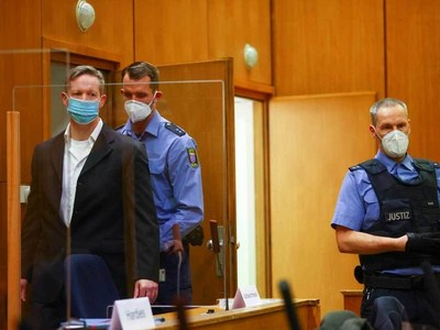 German neo-Nazi gets life in jail for murdering politician