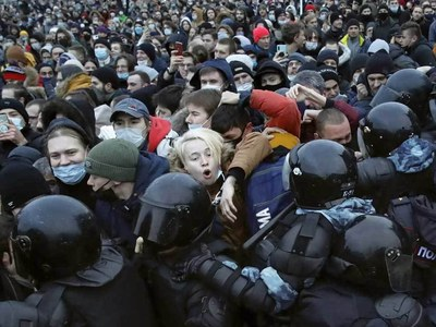 Moscow police warn against 'unauthorised' protests