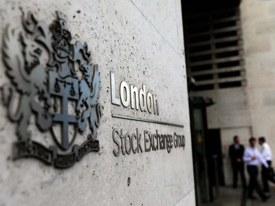 London stocks drop to near one-month low